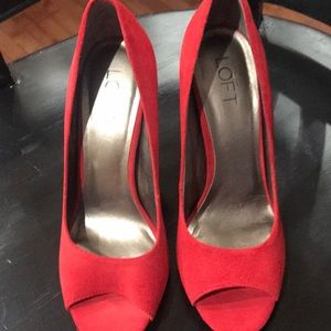 Spice Red Shoes